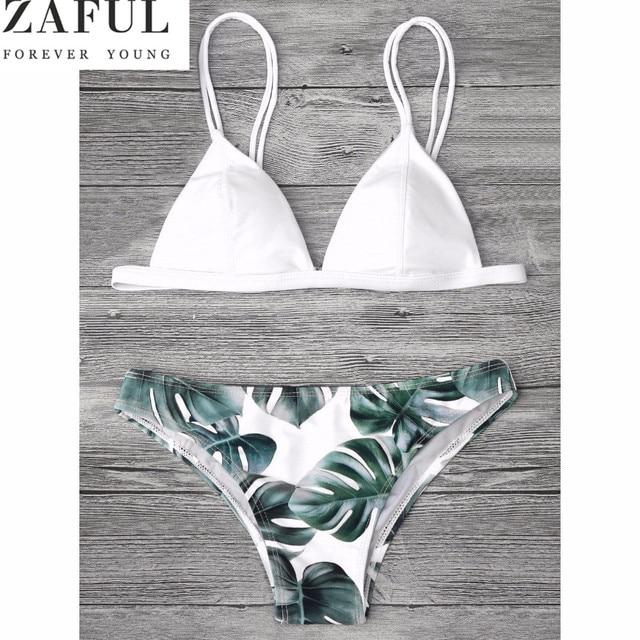 ea7abb2a5f ZAFUL Sexy Brésiliens Bikini Ensemble Maillots De Bain Femmes Maillot De Bain  Maillot De Bain Cami