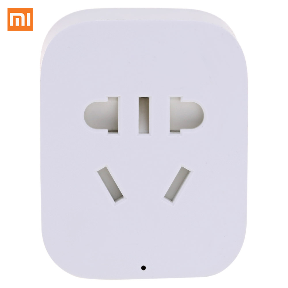 Original Xiaomi Mi Sockets Home Smart WiFi Socket APP Remote Control Timer Power Plug for Electrical Appliance High Quality