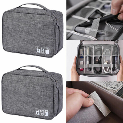 Image 5 - AU Digital Storage Bag Travel Gadget Organizer Case For Hard Disk/USB/Data Cable-in Storage Bags from Home & Garden