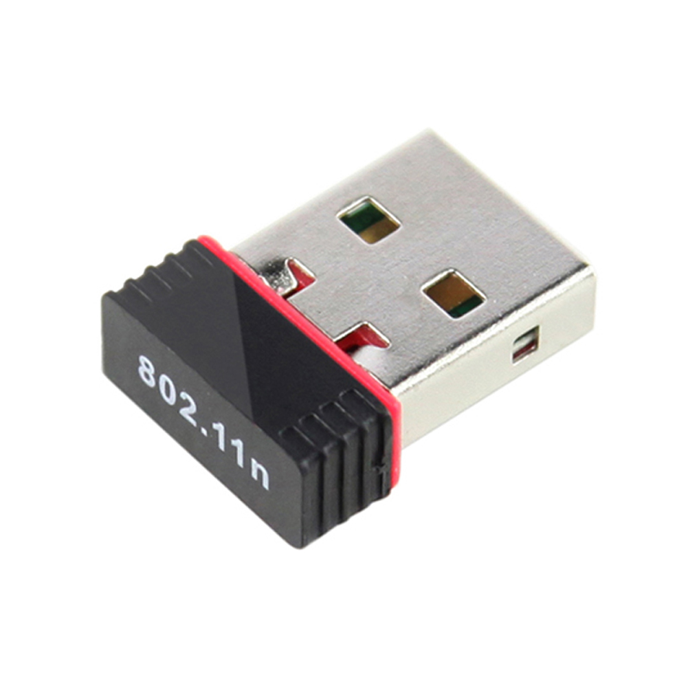 150Mbps WiFi Wireless Mini USB Adapter Network LAN Card 802.11 n/g/b Auto adapter for windows 7/ Window XP/ MAC OS/ Linux Black