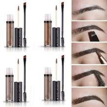 Pudaier Eyebrow Gel Makeup Natural Tint Kit  Black Brown Enhance Tatoo Waterproof Eye Brow
