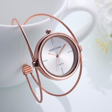 Futuristic Style Women's Wristwatches