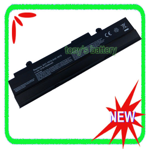 6 Cell Battery For ASUS Eee PC <font><b>1015</b></font> 1016 1016P 1015PE 1015PED 1015PEM 1015PN 1015PW 1215 VX6 <font><b>A32</b></font>-<font><b>1015</b></font> AL31-<font><b>1015</b></font> image