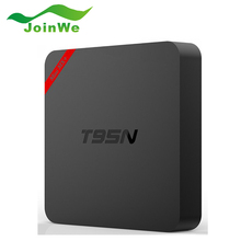 Nueva T95N Mini S905X MXPLUS Android 6.0 Smart TV Set top Box Quad Core A53 WIFI2.4G KODI 16.0 8G EMMC 1G DDR Mali 450 5 core GPU