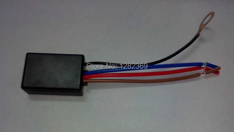 2 Pcs 2019 Novo LD-600 Entrada 220-240 V AC 3 Way Toque Dimmer Para 25 ~ 150 W tungslen Filamento Da Lâmpada de Luz Incandescente, 3-25 W DIODO EMISSOR de Luz
