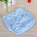 2PCS Baby Cloth Diaper Inserts  Swim Diaper Thickening/grid  Reusable Newborn  Diapers Alva cloth Diaper  Training Pants Baby