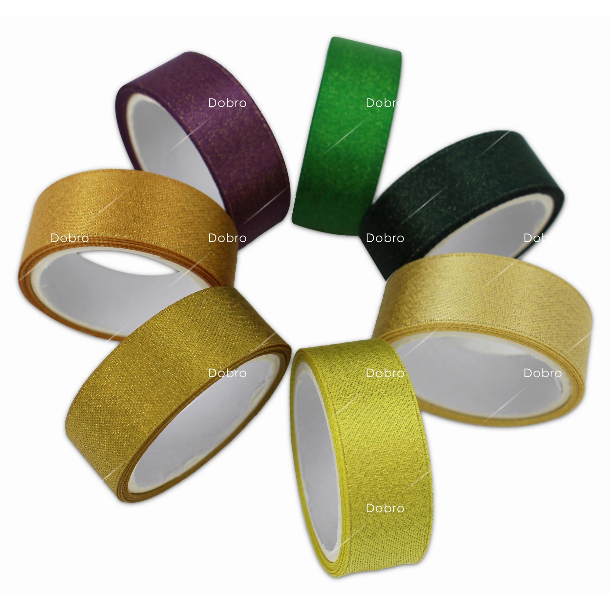 35 Colors Gold Purl Satin Ribbon 3 6 9 16 22 38mm - Өнер, қолөнер және тігін - фото 6