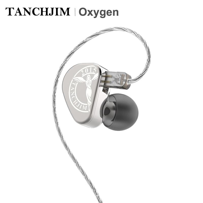 TANCHJIM Oxygen Carbon Nanotube Diaphragm Dynamic Driver HiFi In ear Earphone with 2 Pin 0 78mm