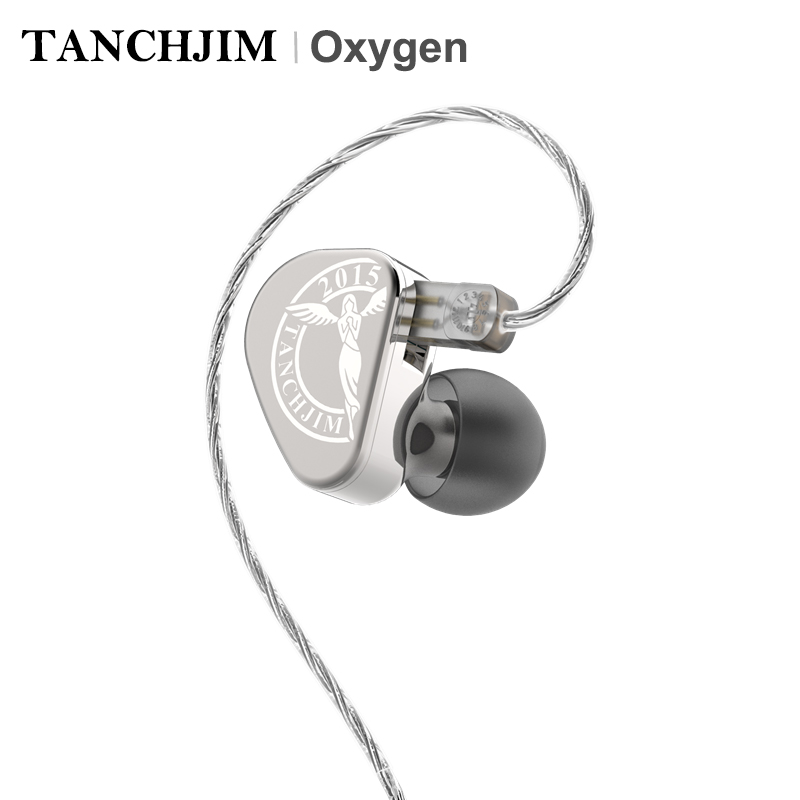 TANCHJIM Oxigênio Diafragma Driver Dinâmico De Nanotubos De Carbono de Alta Fidelidade Fone de Ouvido Intra-auricular com 2 Pin/0.78mm cabo Destacável 32Ohm 110dB IEM
