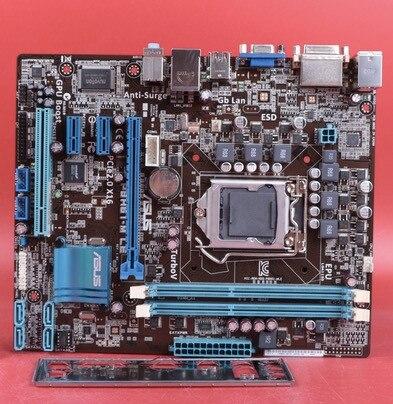 Motherboard original para ASUS P8H61-M LE DDR3 32nm CPU LGA 1155 para I3 I5  I7 16 GB USB2 0 H61 motherboard frete grátis