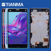 NEW Tested 4 6 1280x720 For SONY Xperia Z3 Compact LCD Display Touch Screen Digitizer With