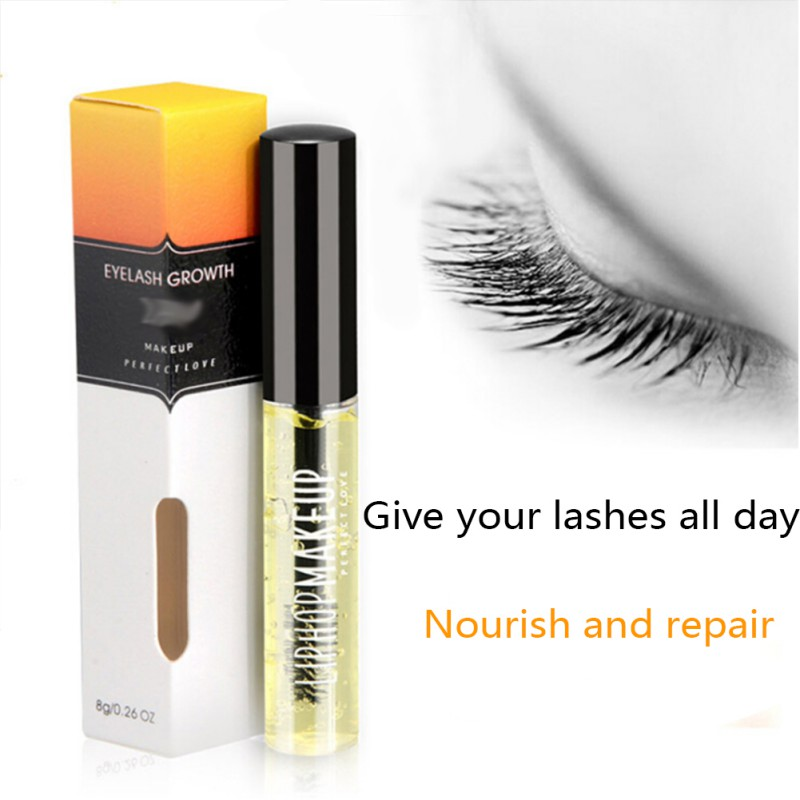 все цены на Nutritious Powerful Eyelash Growth Treatments Liquid Eye lash Serum Makeup Enhancer Longer Thicker Grow In A Month 8ml онлайн
