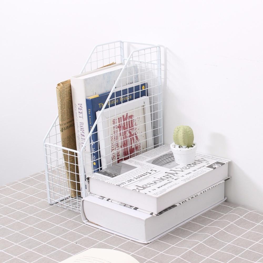 Organizador simple de la oficina del sostenedor del archivo de la - Organización y almacenamiento en la casa