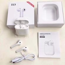 2019 Новый i13 СПЦ 1:1 для воздуха стручки беспроводной Bluetooth 5,0 тяжелых 3D объемный звук наушники pk i10 i11 i12 СПЦ для всех смартфонов