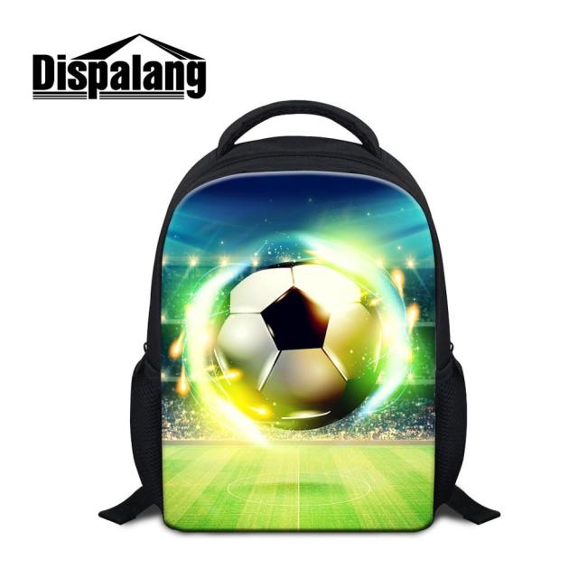 Ball Printing Backpacks For Kids Children Mini School Bag Book Bags Kindergarten Boys Preschoolers Traveling