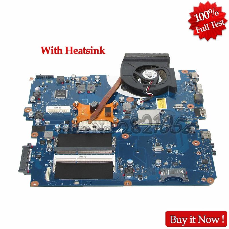 все цены на NOKOTION BA92-06785A BA41-01219A Laptop Motherboard for Samsung R540 NP-R540 Mainboard BREMEN-C HM55 DDR3 With Free Heatsink