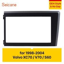 Seicane 173*98/178*100/178*102mm montaż zestaw 2 Din Radio samochodowe panel rama konsola do 1998-2004 Volvo XC70 V70
