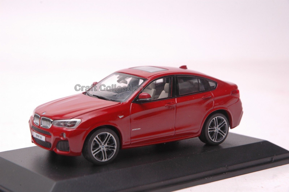 Free Shipping Metallic Red 1 43 Car Model for X4 Cross SUV Diecast Auto Modell Hot