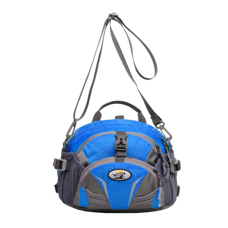 TANLUHU 337 Nylon Sports Bag Outdoor Climbing Hiking Backpack Unisex Waist Pack Kettle Bag Handbag Running Bag