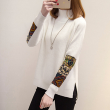 HAO HE SHEN Turtleneck female winter shirt sweater when the Korean version of the new thick loose sweater female head