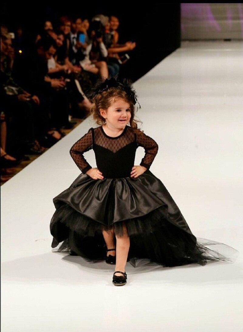Popular Little Girls Black Puffy Dresses-Buy Cheap Little Girls ...