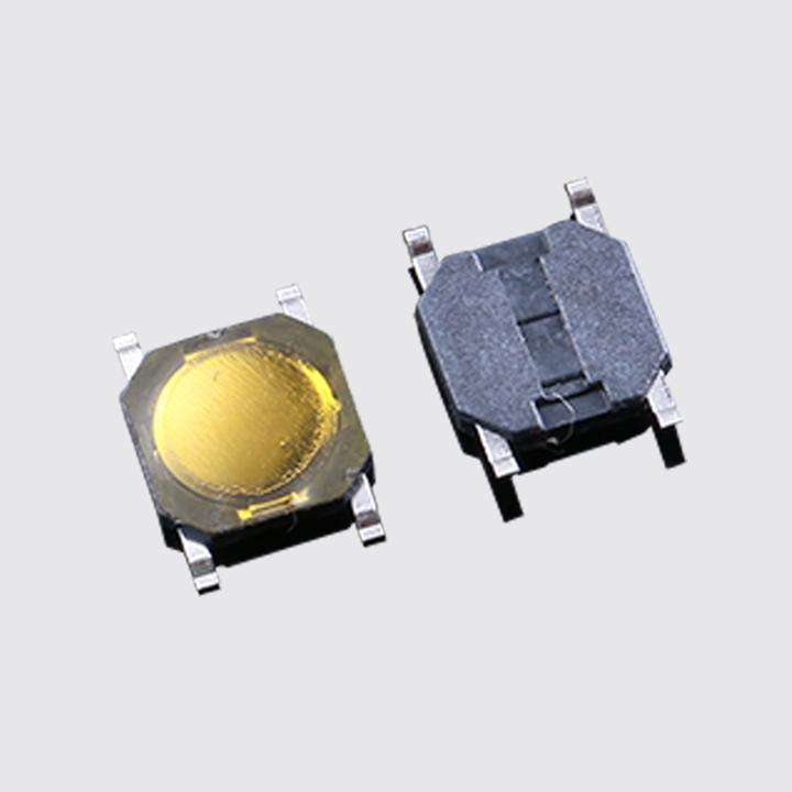 100pcs Waterproof Switch 4x4x0.8mm Tact Switch SMT SMD Tactile Membrane Switch PUSH Button SPST-NO 4*4*0.8