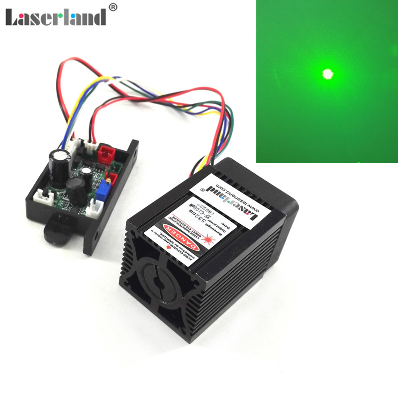 DPSS 100mW-130mw 532nm Green Laser Diode Module Analog 110VAC-220VAC Stage new arrive 100mw 532nm green laser diode module green beam lab with driver with heat sink laser pen