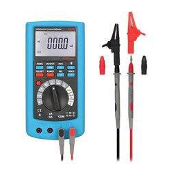 AMPX1 2w1 LCD cyfrowy kalibrator procesów o wysokiej dokładności z multimetrem DMMNew