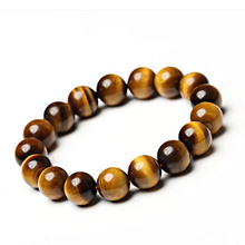 Free Shipping bead Natural yellow tiger eye bracelet wood alexandrite crystal bracelets jewelry Wang career men women enrichment