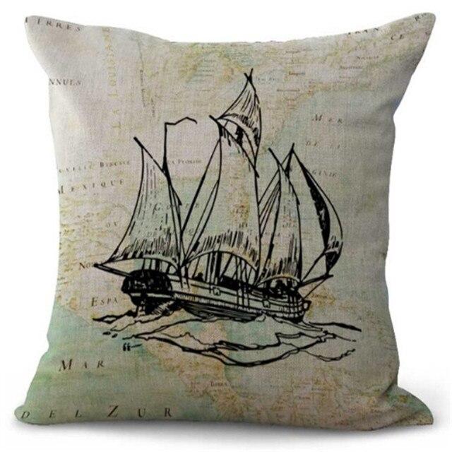 Gallon Ship Cushion Covers   5