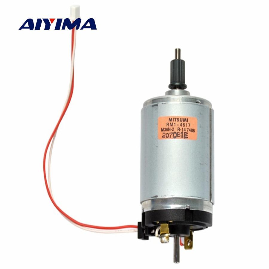 Aiyima 1Pc 545 DC Motor 12V-38V Generator High-quality Wind Turbines 2400-6800RPM Transformer 545 dc 3 24v motor power generator high quality wind turbines 2100 5000 rpm dc motors