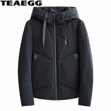TEAEGG Casual Winter Man Jacket Coat Blouson Homme Hiver 2017 Cotton Mens Padded Jackets And Coats Plus Size Parka Homme AL619