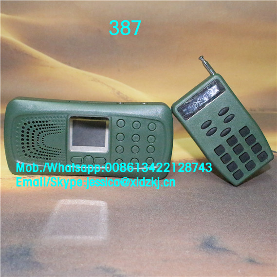 ФОТО LCD display bird caller remote control speakers for hunting