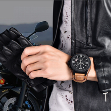 Reloj Hombre Military Army Watch Man Sport Quartz Watch Mens Watches Top Brand Luxury Wristwatch Clock Men Leather Montre Homme