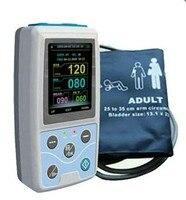СМАД + SpO2 амбулаторно Приборы для измерения артериального давления Мониторы + автоматическая 24 h BP измерения PM50 Приборы для измерения артери