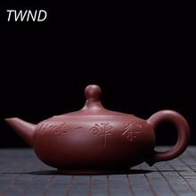 270CC Исин Чайник из красной глины li mao чайник кунг-фу посуда Zisha костюм галстук Guanyin Puer Dahongpao 16