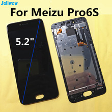 цены на For Meizu Pro6s PRO 6s M570Q-S  LCD Display+Touch Screen or with Frame Digitizer Assembly Replacement Accessories  в интернет-магазинах