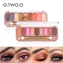 ФОТО o.two.o eye shadow palette matte eyeshadow palette glitter eyeshadow  makeup eye shadow cosmetics oogschaduw fashion 9colors9092