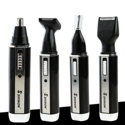SH-2051 Multifunction 4 In 1 Electric Men Ear Nose Trimmer Rechargeable Portable Hair Clipper Shaver Beard Eyebrow Trimmer