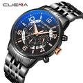Новые брендовые Роскошные модные повседневные спортивные мужские часы с хронографом  кварцевые наручные водонепроницаемые часы Montre Homme