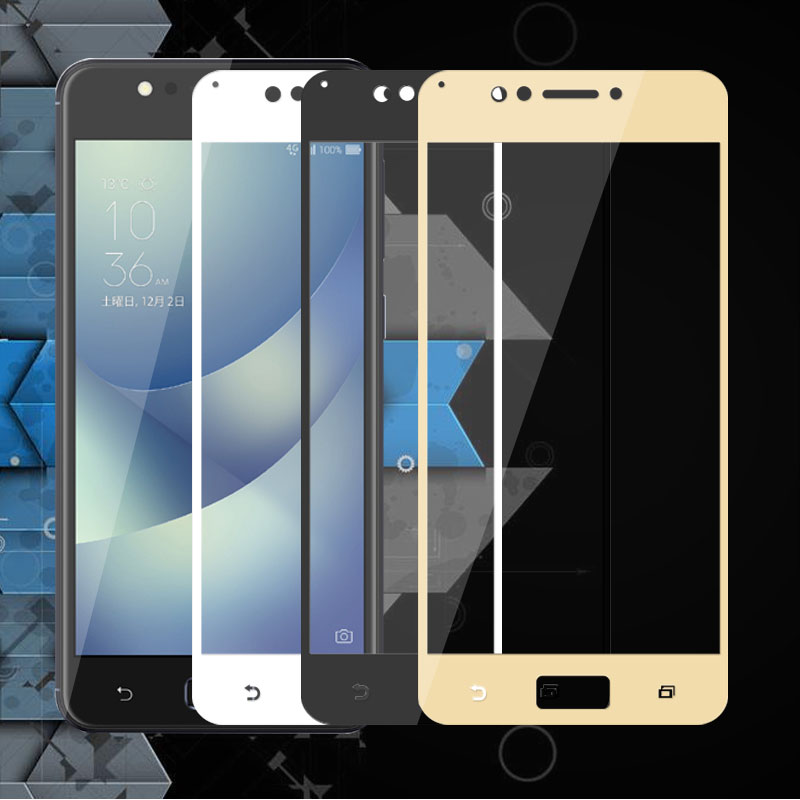 Full Cover Tempered Glass Phone Screen Protector Glass For ASUS Zenfone 4 Max ZC520KL 5.2
