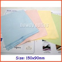 150*90mm,neddle 2 colorful microfiber cleaning cloth,eyeglasses cleaning cloth,watch cloth,Free shipping!