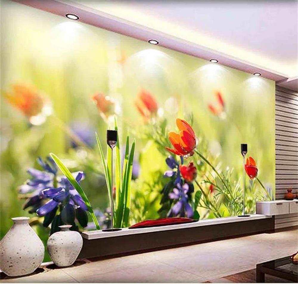 3d Wallpapercustom Photo Hd Muralou Only Beautiful Flowers