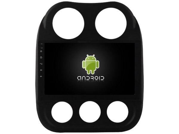 4 Г lite Android 6.0 OS Автомобильный DVD для <font><b>JEEP</b></font> COMPASS/PATRIOT 2007-2016 авторадио головных устройств стерео плеер магнитофон мультимедиа