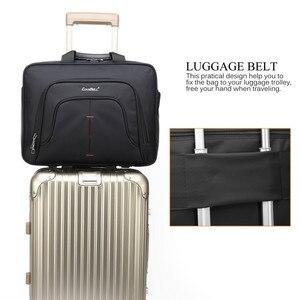 Image 5 - Coolbell Laptop Bag 15.6/15 Inch For Macbook Pro 15 Case Notebook Bag Laptop Messenger Sling Bag Laptop Briefcase
