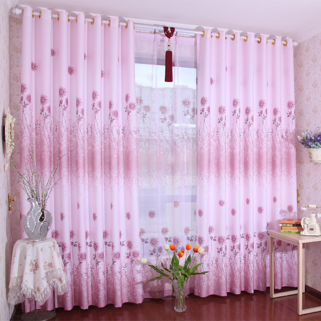 Curtains Living Room Door Curtain Finished Product Print Fabric ...