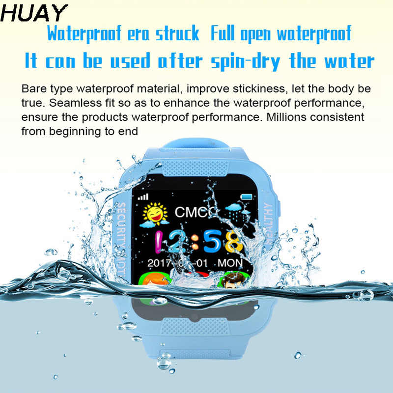 "Kids GPS tracker watch HD camera 1.54""Touch screen open waterproof children watch Bluetooth GPS tracking SOS Location K3 1pcs"