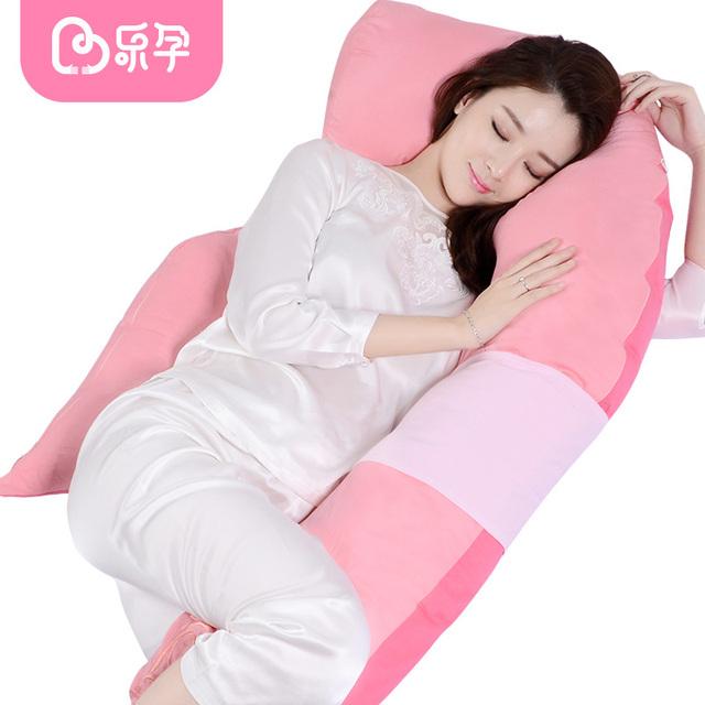 Leyun travesseiro gravidez maternidade respirável macio mulheres corpo dormentes Removível travesseiro apoio cintura travesseiro de enfermagem amamentação