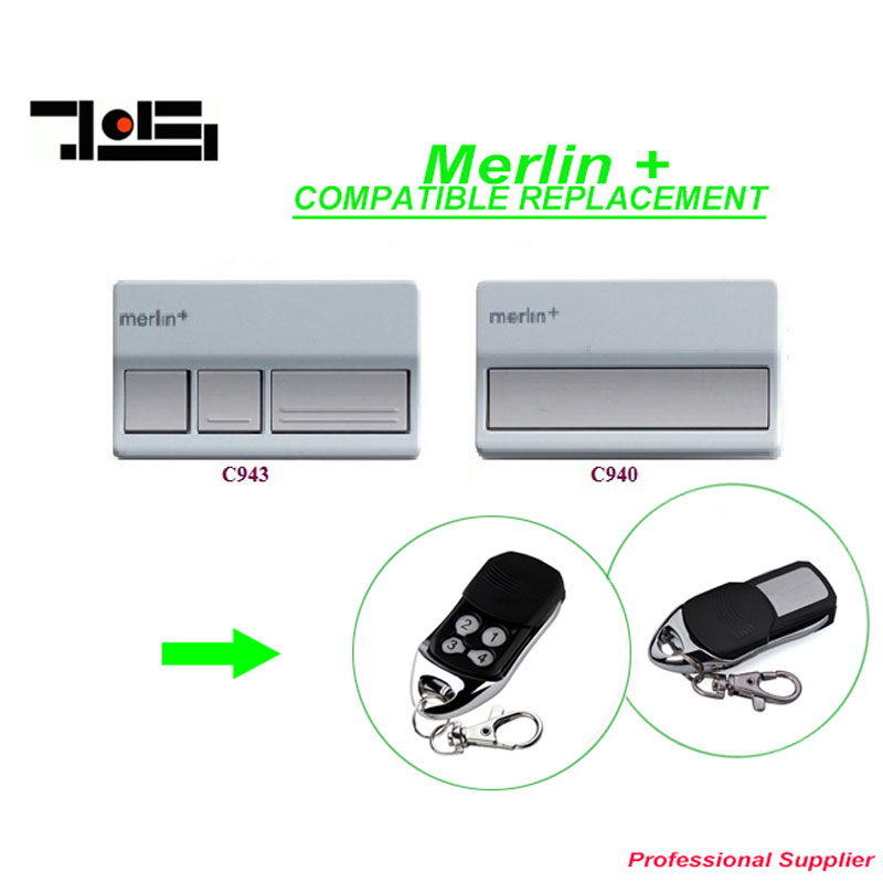 Aftermarket Garage Door Remote Control Merlin plus Merlin+ C945 DHL free shipping after market merlin plus compatible remote suit c945 940 933 dhl free shipping