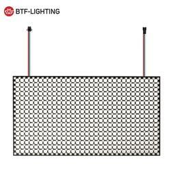WS2812B Mini 2020 RGB Matrix Panel 18x32 576 Pixel High-Dichte Digitalen Bildschirm Einzeln Adressierbaren Full Traum farbe DC5V